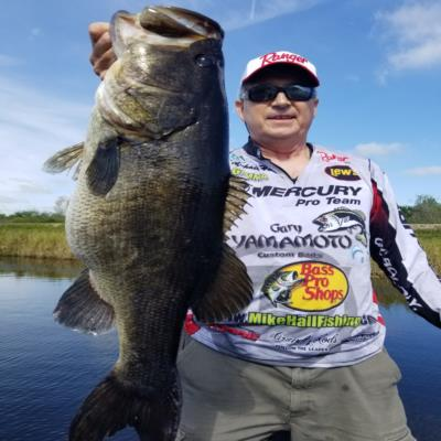 10lb 3oz Florida Bass Caught by Michael Hall