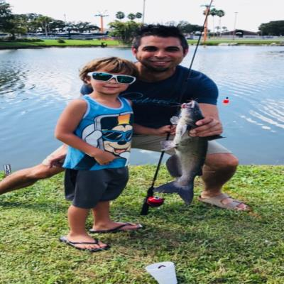 Big Catfish Catch at Florida Sportsman Expo