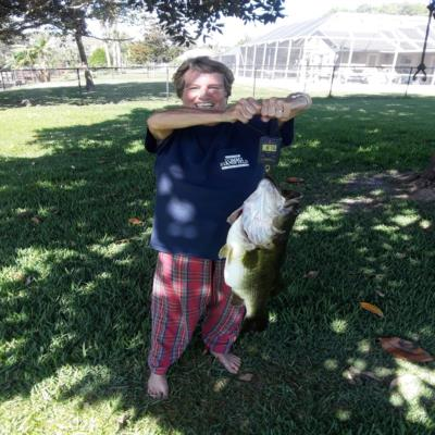 Large mouth bass LUNKER