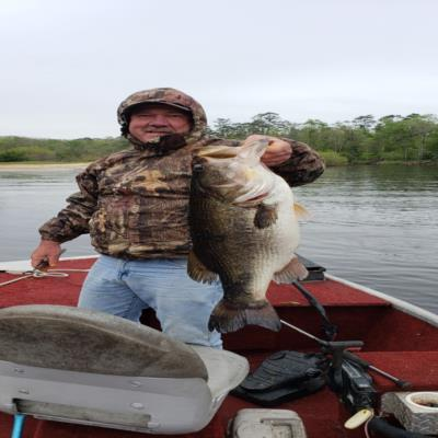 Sterling Brown's 10lb 14oz bass - Ocklocknee River, Florida