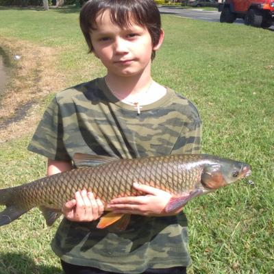 Xavier's carp Catch